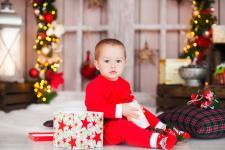 детская новогодняя фотосессия харьков
