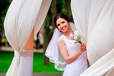 сделать свадебную фотографию
